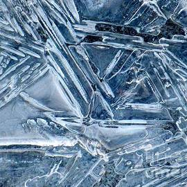 Jean Doepkens Wright - Ice Geometric Abstract