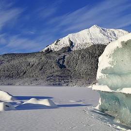 Cathy Mahnke - Iceberg and Mount McGinnis