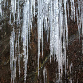 Dwight Cook - Icicles on a cliff