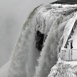 Rose Santuci-Sofranko - Icy Plunge at Niagara Falls