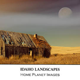 Janis Knight - Idaho Landscapes - Barn