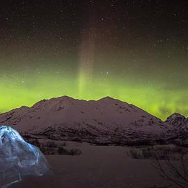 Sam Amato - Igloo and Alaska Northern Lights