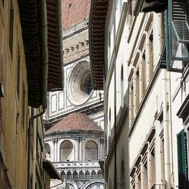 Magali Gauthier - Il Duomo Firenze street