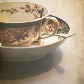 Jan Bickerton - Imari cup and saucer