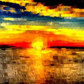 Bruce Nutting - Impressionistic Sunset