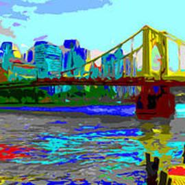 C H Apperson - Impressionist Clemente Bridge