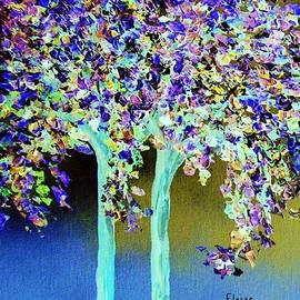 Eloise Schneider - In a Blue and Purple World