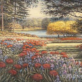Pierre Morin - In a garden