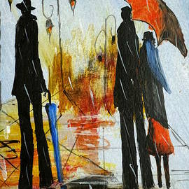 Halina Plewak - In Rain II