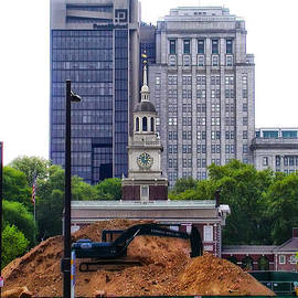 Bill Cannon - Independence Square - Under Construction