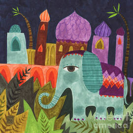 Kate Cosgrove - India Elephant