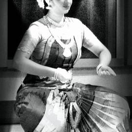 Janette Boyd - Indian Dancer in Black and White