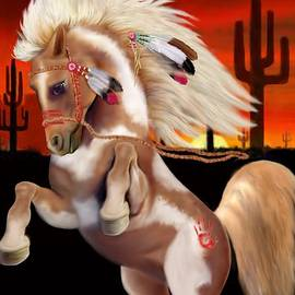 Indian War Pony