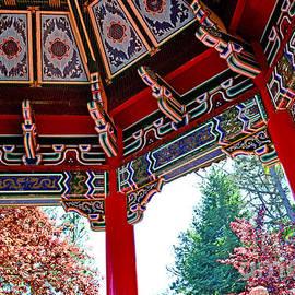 Jim Fitzpatrick - Inside of the Stow Lake Pagoda II