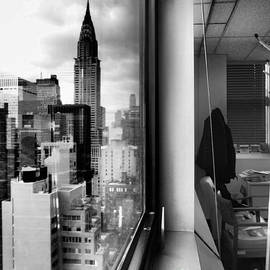 Miriam Danar - Inside Outside - Chrysler Building and Office Window