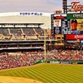 Daniel Thompson - Inside Pano of Comerica Park Day Game