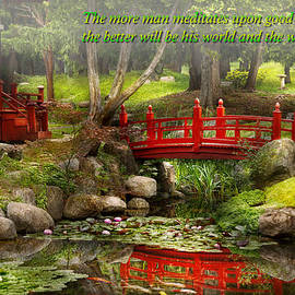 Mike Savad - Inspiration - Japanese Garden - Meditation