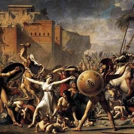 Jacques Louis David - Intercession of the Sabine Women