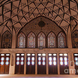 Robert Preston - Interior at the Tabatabiyeh traditional merchants residence at Kashan in Iran