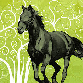 Arun Sivaprasad - Interior Decor- Horse Running