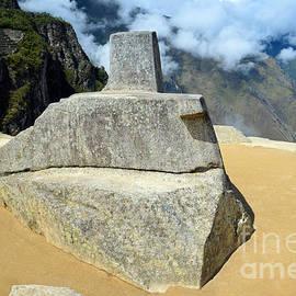 Catherine Sherman - Inti Watana Stone Calendar at Machu Picchu