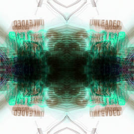 Don Lee - Inverted Kaleidoscope Mirrored Tripping On Psychedelic Unleaded Gas Price Experimental Photography
