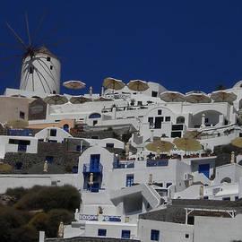 Colette V Hera  Guggenheim  - Ioa Village on Santorini Island