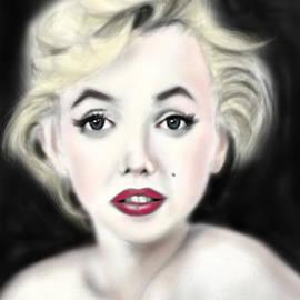 Yoshiyuki Uchida - iPad Portrait Marilyn