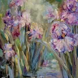 Mary Wolf - Iris Garden