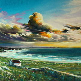 Roman Burgan - Irish coastline