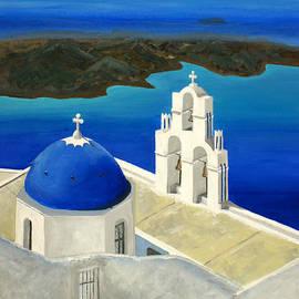 Maria Varnalis - Island of Santorini