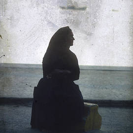 BERNARD JAUBERT - Isolated woman