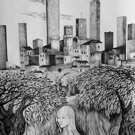 Anna  Duyunova - Italian Fantasies. San Gimignano