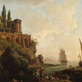 Vernet - Italian Harbor Scene