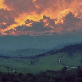 LC Bailey - Italian Hills Sunset