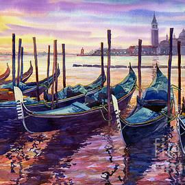 Yuriy Shevchuk - Italy Venice Early Mornings