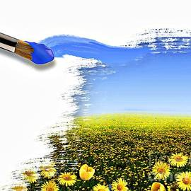 M and L Creations - Its all in the brush