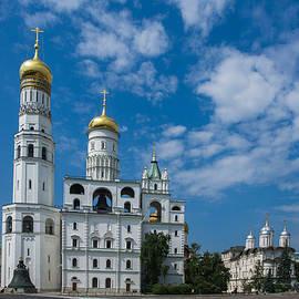 Alexander Senin - Ivanovskaya square of Moscow Kremlin - Featured 3