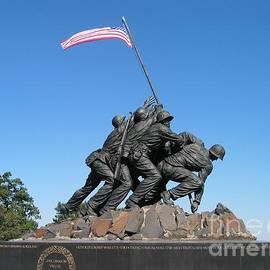 Eva Kaufman - Iwo Jima Flag Raising