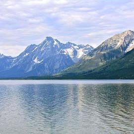 Karon Melillo DeVega - Jackson Lake Grand Teton Mountains
