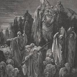 Gustave Dore - Jacob Goeth Into Egypt