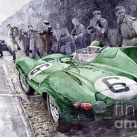 Yuriy Shevchuk - Jaguar D-TYPE  1955 Le Mans