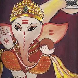 Artist Nandika  Dutt - Jai Ganesha
