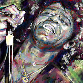 Ryan RockChromatic - James Brown Painting