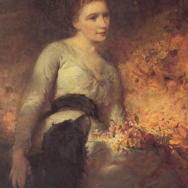 George Elgar Hicks - Jane Isabella Baird