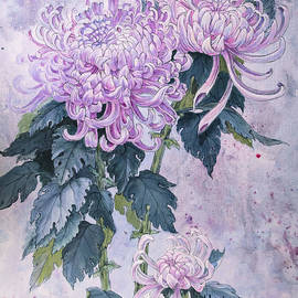 Irina Effa - Japanese Chrysanthemum Series Part 1 WINTER