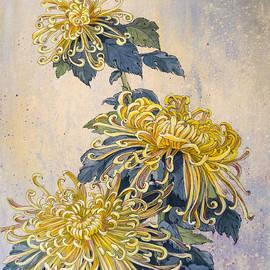 Irina Effa - Japanese Chrysanthemum Series Part 2 AUTUMN