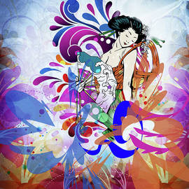 Georgiana Romanovna - Japanese Colorful Lady