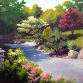 Janet King - Japanese Garden At Cheekwood
