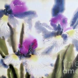 Addie Hocynec - Japanese Iris Trio